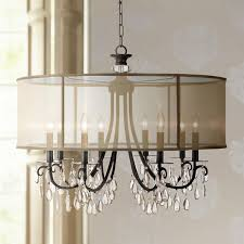 attractive bronze crystal chandelier