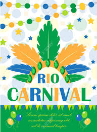 Rio Carnival Poster, Invitation, Flyer. Template For Your Design ...
