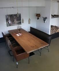 Tisch Empire 50er Jahre Möbel Altholztische Baumkantentisch