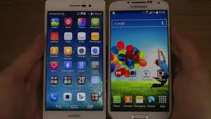 Huawei Ascend P7 vs. Samsung Galaxy S4 - Video Dailymotion