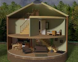 Delightful Yurt Homes | ... Or Spiral Stairs To Your Second Floor Or Loft In Your  Cedar Yurt More