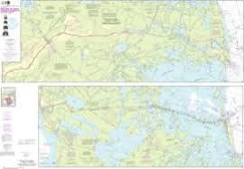 Oceangrafix Noaa Nautical Chart 11365 Barataria And Bayou