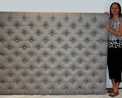 tufted headboard with rhinestone buttons. Beautiful Rhinestone Cool Diamond Tufted Headboard With Crystal Buttons  In Rhinestone N