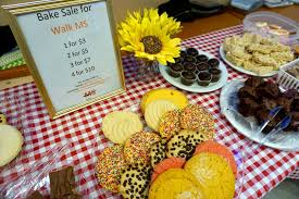 How To Have A Bake Sale Bake Sale At Salesforce For Walk Ms Well And Strong With Ms