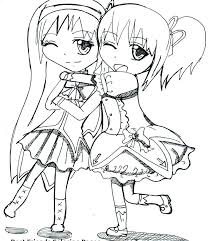 Cute Best Friend Coloring Pages At Getdrawingscom Free For