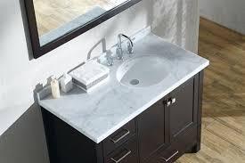 Bathroom Vanitiy Magnificent Ariel Cambridge Single 48Inch Modern Bathroom Vanity Set With