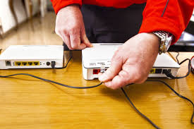 hooking up router