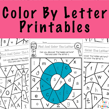 Just print the worksheets in black and white you need and you are ready to practice your alphabet letters. Color By Letter Fun With Mama