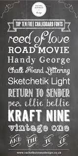 chalkboard fonts free my top ten free chalkboard fonts rachel bonness design