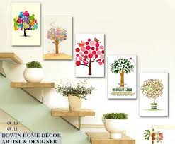 whole diy abstract multi picture flower painting wall art living room hotel showroom decorative oil canvas painted number in painting calligraphy from
