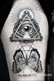 Photo Eye In Triangle Tattoo 03032019 149 Idea For Eye In