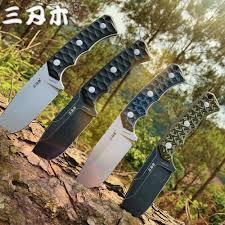 <b>SANRENMU</b> Новый <b>S738 нож</b> с фиксированным лезвием с K ...