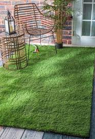 indoor outdoor artificial grass area rug contemporary outdoor rugs by rugpal
