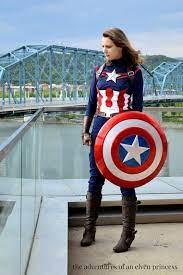 diy captain america costume ideas