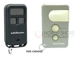 craftsman garage door opener remote troubleshooting sears remotes