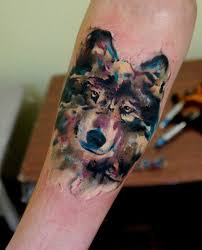 тату в стиле акварель фото и эскизы акварельных татуировок для