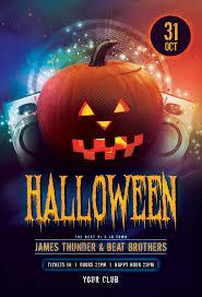 Halloween Dance Flyer Templates Halloween Party Flyer Template On Pantone Canvas Gallery