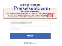 Maybe you would like to learn more about one of these? 2 Cara Mengembalikan Akun Facebook Yang Diblokir Facebook