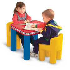 Classic Table and Chairs Set Kids Tables \u0026 - Toddler | Little Tikes