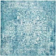 8x8 square area rug blue square rug evoke blue ivory 9 ft x 9 ft square