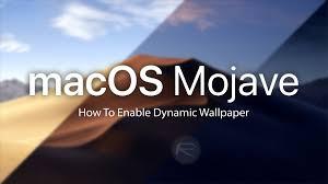 How To Enable Dynamic Desktop Wallpaper ...