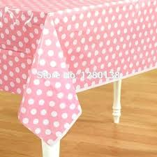 disposable table cloths plastic covers creative colorful polka dot cloth tablecloth black