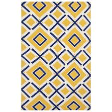 super blue and yellow rug jill rosenwald by surya fallon maze navy sunshine hand