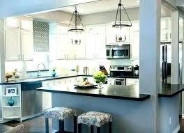mid century modern kitchen lighting tech