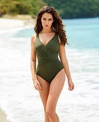 Designer Plus Size Swimwear Shop Miraclesuit Slimming Swimsuits And Best Plus Size Swimwear