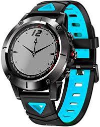 Xanes <b>G01</b> Waterproof Smart Bracelet <b>Smart Watch</b>, Black+Blue ...
