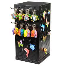 Spinner Display Stands Cool Metal Pegboard Counter Spinner Display