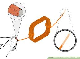 simple electric motor diagram. Modren Motor Image Titled Build A Simple Electric Motor Step 5 And Diagram