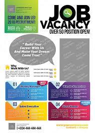 Job Vacancy Flyer Flyer Template Templates Sample Resume
