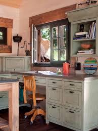 home office decor contemporer. Modren Decor Contemporary Image Of Home Office Decoration Using 2 Person  Desk  Cheerful To Decor Contemporer