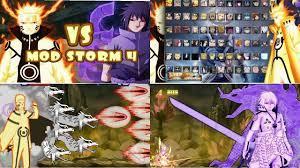 NEW UPDATE! Bleach VS Naruto 3.3 MOD STORM 4 ALL NARUTO CHARACTERS {DOWN...  | Game app, Naruto characters, Naruto mugen