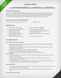 Registered Elegant Sample Resume For Registered Nurse Reference Of