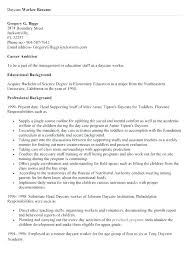 Child Care Cv Template Metabots Co