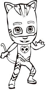 Pj masks series has become in the most popular ongoing child´s show at the moment. Pj Masks Coloring Pages Coloring Home