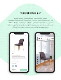 Furniture Design App Furniture App Concept With Ar On Behance