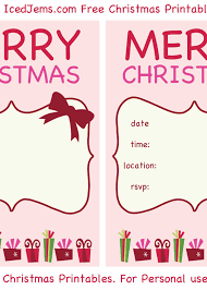 Word Templates Christmas Free Christmas Party Invitation Templates 650 911 Free