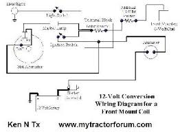 ford 9n wiring diagram 12 volt conversion wiring diagram and mey harris fourty four generator originally six volt
