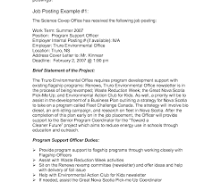 Internal Job Posting Cover Letters Tomyumtumweb Com