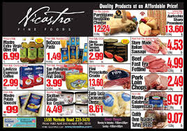 ample foods flyer nicastro fine foods specials nicastro fine foods
