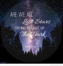 lost stars quote wallpaper hd