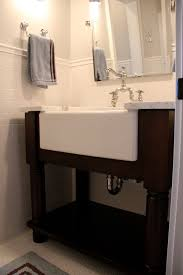 luxurious farm sink bathroom vanity in most interesting farmhouse minimalist double