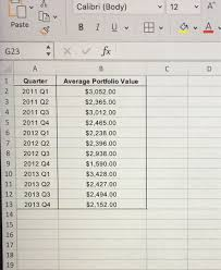 Solved 19 In A Given Table The Average Stock Returns Fo