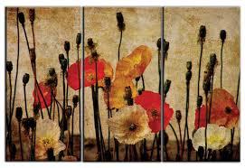 triptych wall art canvas prints