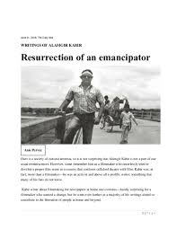 PDF) WRITINGS OF ALAMGIR KABIR: Resurrection of an emancipator | Anis  Pervez - Academia.edu