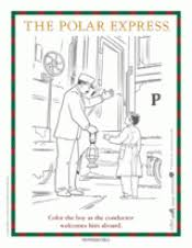 Small Picture The Polar Express Conductor Coloring Page Printable Christmas