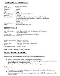 Word Format Resume Custom 60 Free Electrician Resume Samples Sample Resumes